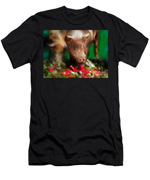 Pigs Men's T-Shirt (Athletic Fit)