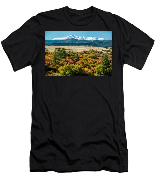 Pikes Peak Over Scrub Oak Men's T-Shirt (Athletic Fit)