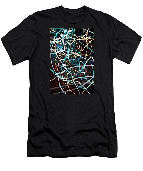 Men's T-Shirt (Slim Fit) featuring the photograph Pilgimage Of Lights 2 by Joel Loftus