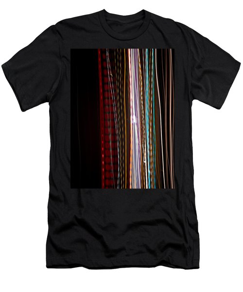 Men's T-Shirt (Slim Fit) featuring the photograph Pilgrimage Of Lights 1 by Joel Loftus