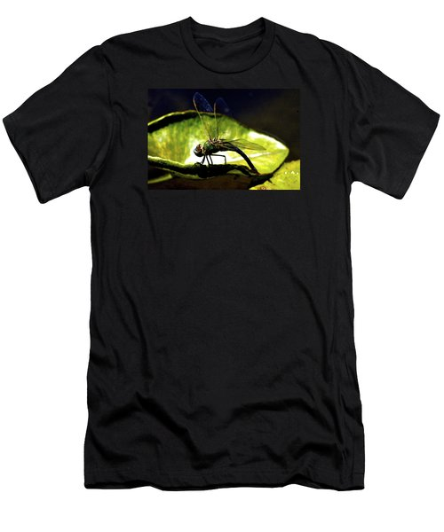 Men's T-Shirt (Slim Fit) featuring the photograph Pinao The Hawaiian Dragonfly by Lehua Pekelo-Stearns
