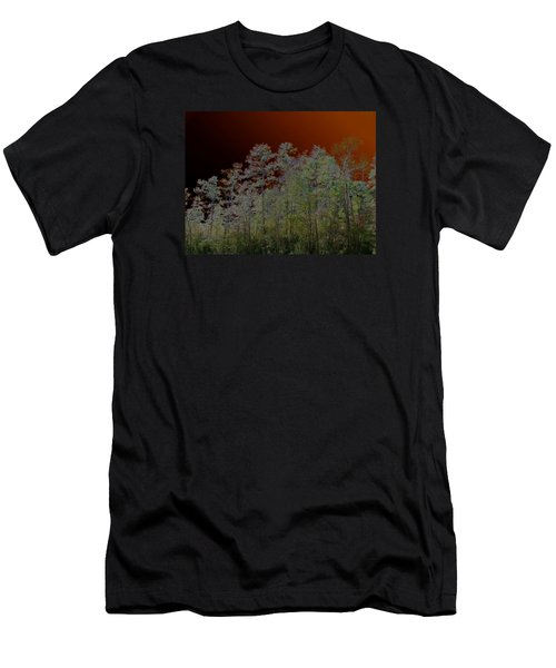 Pine Forest Men's T-Shirt (Slim Fit) by Connie Fox