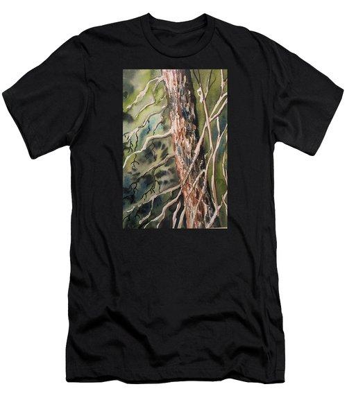 Pine Tree Men's T-Shirt (Athletic Fit)