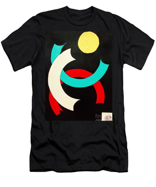 Pineapple Moon Men's T-Shirt (Athletic Fit)