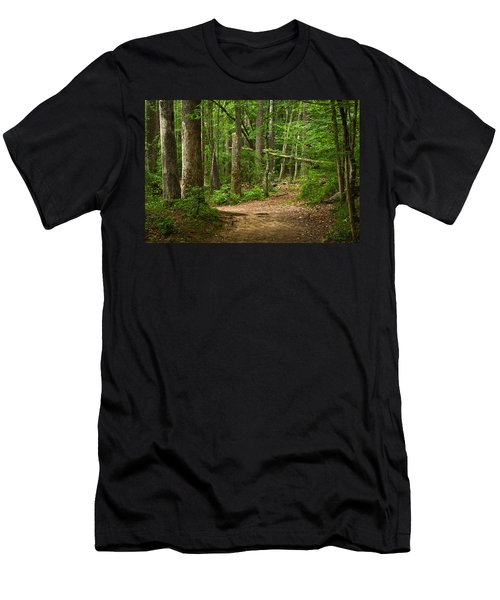 Pinewood Path Men's T-Shirt (Athletic Fit)