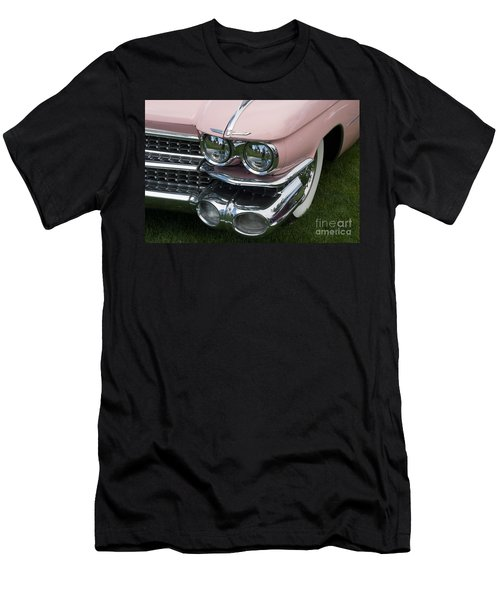 Men's T-Shirt (Athletic Fit) featuring the photograph Pink Caddy by Gunter Nezhoda