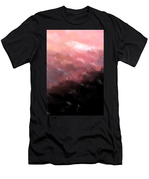 Pink Clouds Men's T-Shirt (Athletic Fit)