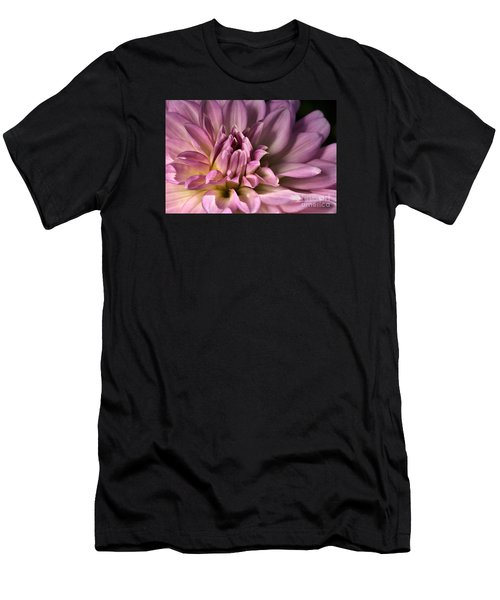 Pink Dahlia's Dream Men's T-Shirt (Slim Fit) by Joy Watson
