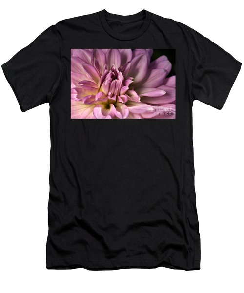 Pink Dahlia's Dream Men's T-Shirt (Athletic Fit)