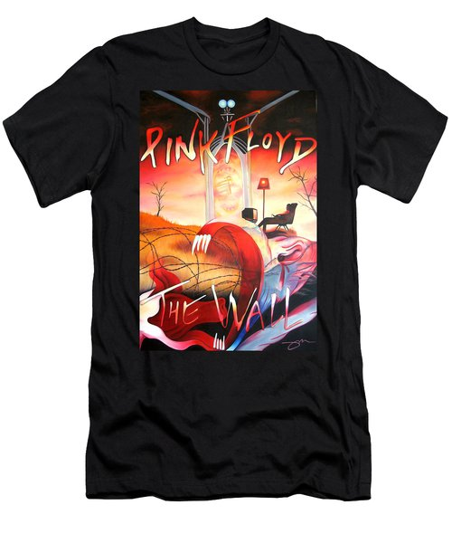 Pink Floyd The Wall Men's T-Shirt (Athletic Fit)