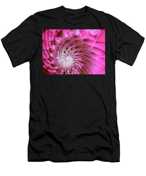 Pink Men's T-Shirt (Athletic Fit)