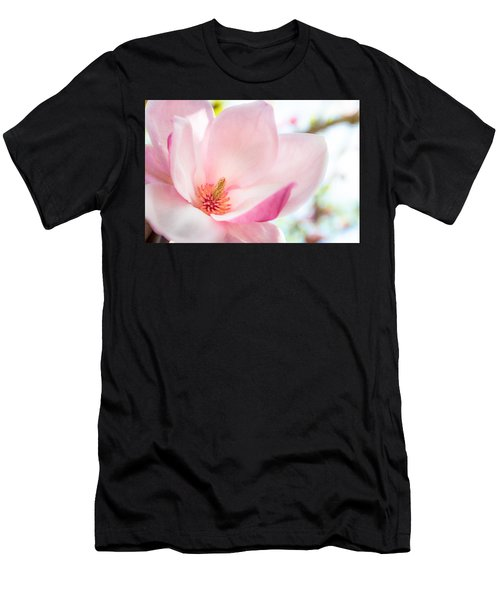 Pink Magnolia Men's T-Shirt (Athletic Fit)