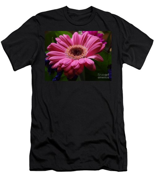 Pink Petal Explosion Men's T-Shirt (Athletic Fit)