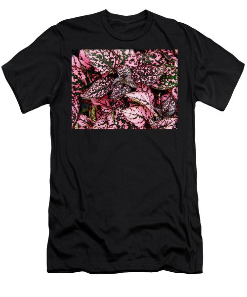 Pink - Plant - Petals Men's T-Shirt (Athletic Fit)