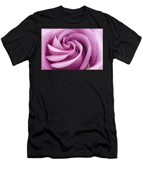 Pink Rose Folded To Perfection Men's T-Shirt (Athletic Fit)