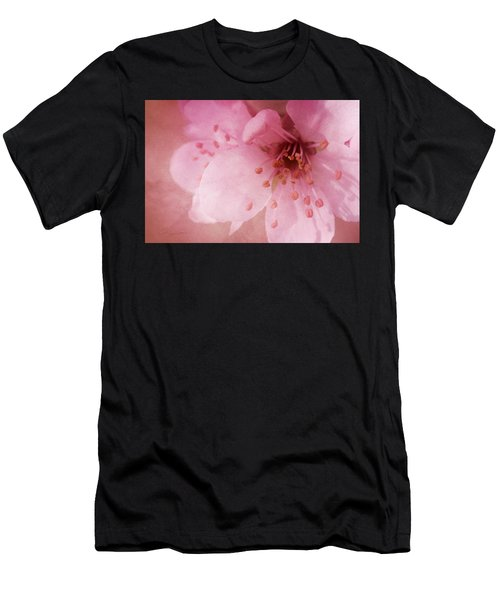 Pink Spring Blossom Men's T-Shirt (Athletic Fit)