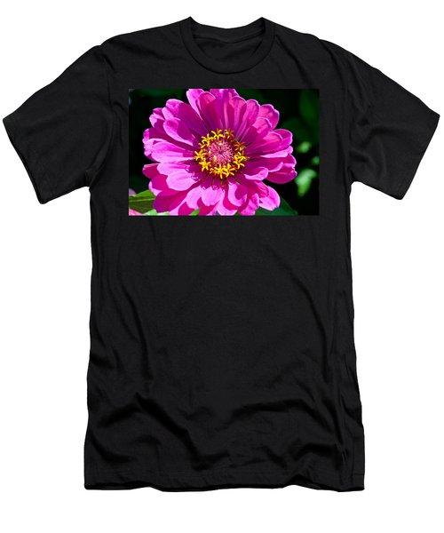 Pink Zinnia Men's T-Shirt (Athletic Fit)