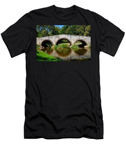 Pinkerton Road Bridge Men's T-Shirt (Athletic Fit)