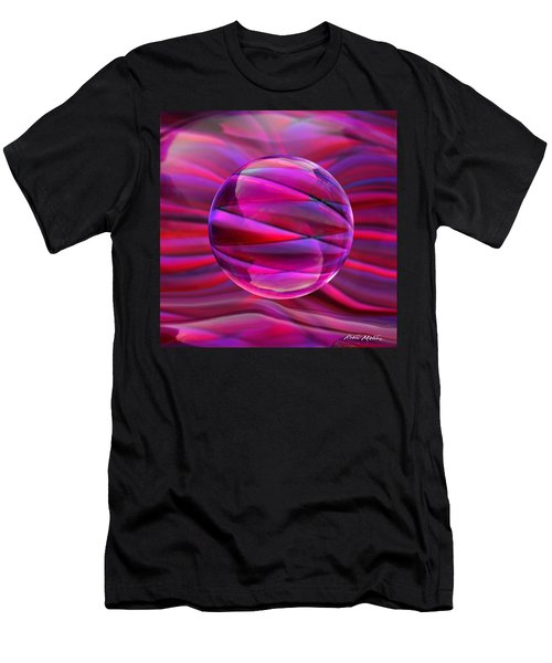Pinking Sphere Men's T-Shirt (Athletic Fit)