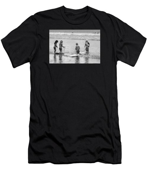Pint Size Boogie Boarders Men's T-Shirt (Athletic Fit)