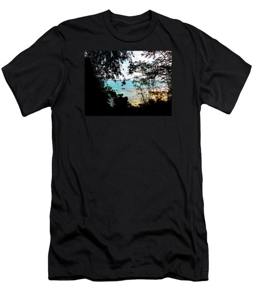 Men's T-Shirt (Slim Fit) featuring the photograph Picturesque by Amar Sheow