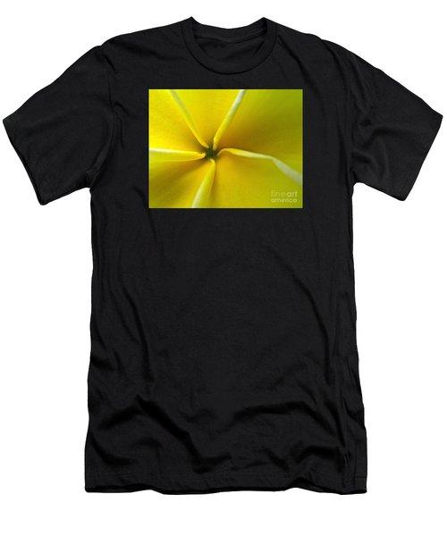 Pinwheel Plumeria Men's T-Shirt (Athletic Fit)