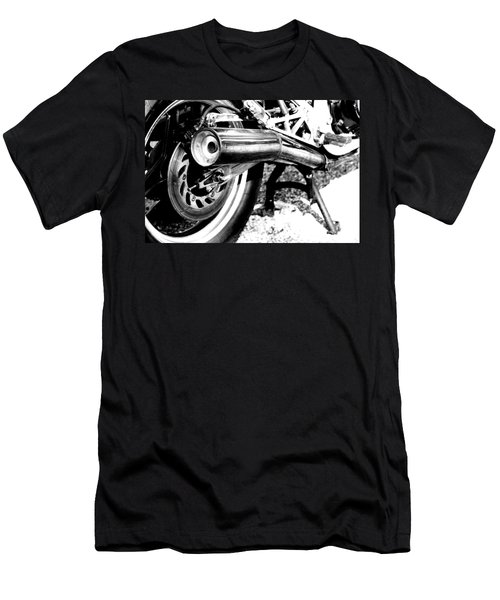 Pipe Black And White Men's T-Shirt (Athletic Fit)