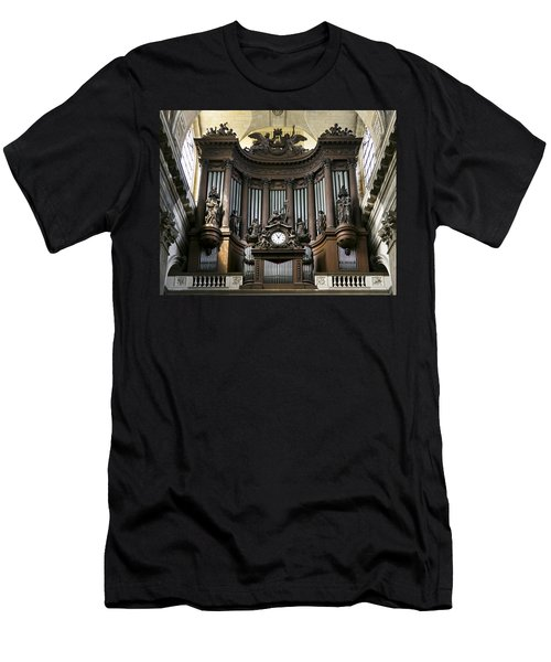 Pipe Organ In St Sulpice Men's T-Shirt (Athletic Fit)