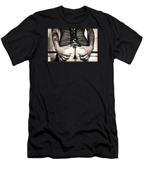 Piper Precious Squeeze No 73-5066 Men's T-Shirt (Athletic Fit)