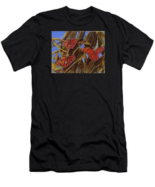 Pismo Monarchs Men's T-Shirt (Athletic Fit)