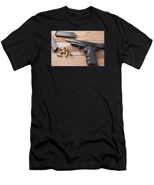 Pistol Men's T-Shirt (Athletic Fit)