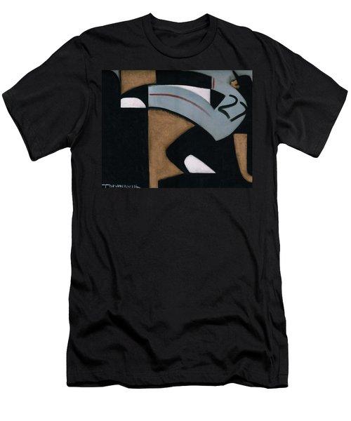 Juan Marichal High Leg Kick  Art Print Men's T-Shirt (Athletic Fit)
