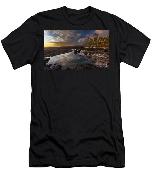 Place Of Refuge Sunset Reflection Men's T-Shirt (Athletic Fit)
