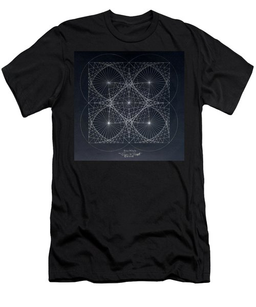 Plancks Blackhole Men's T-Shirt (Athletic Fit)