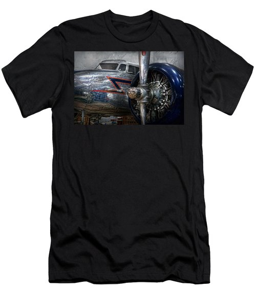 Plane - Hey Fly Boy  Men's T-Shirt (Slim Fit) by Mike Savad