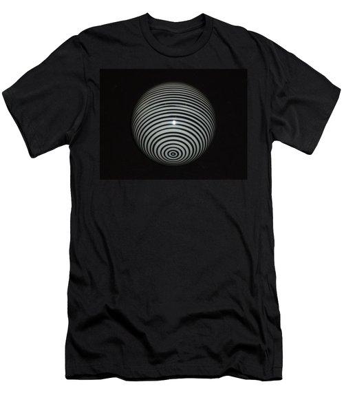 Planet Zebra Men's T-Shirt (Slim Fit) by Douglas Fromm