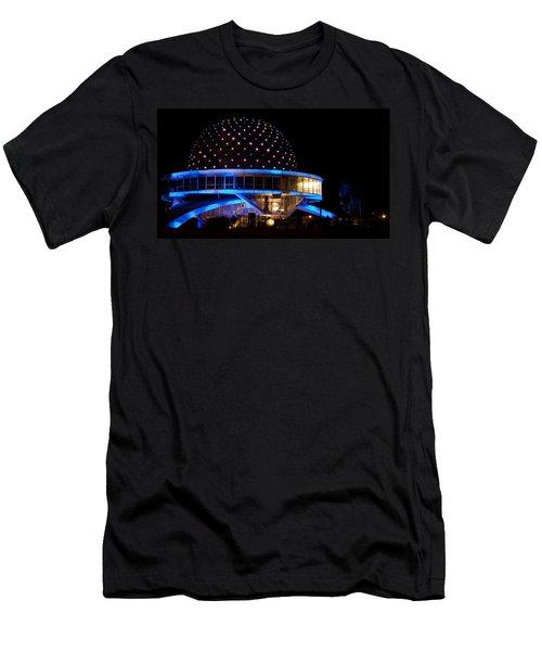 Planetarium Men's T-Shirt (Slim Fit) by Silvia Bruno