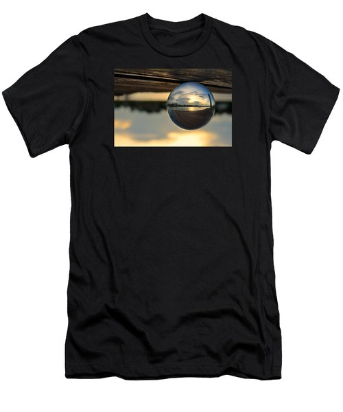 Planetary Men's T-Shirt (Slim Fit) by Laura Fasulo