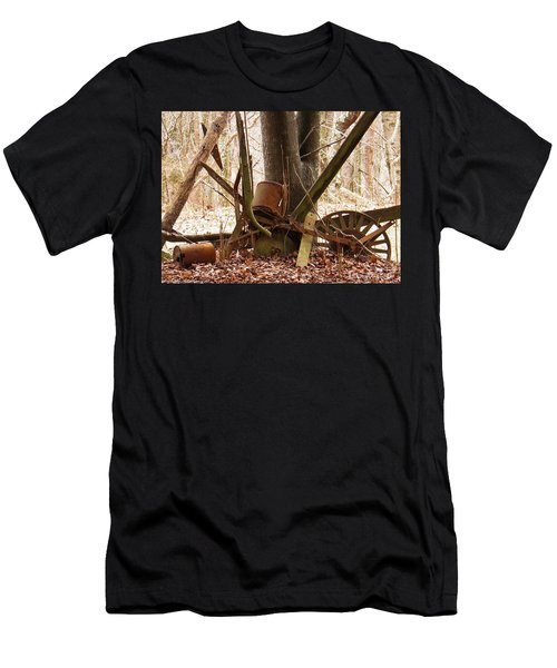 Men's T-Shirt (Slim Fit) featuring the photograph Planted Planter by Nick Kirby