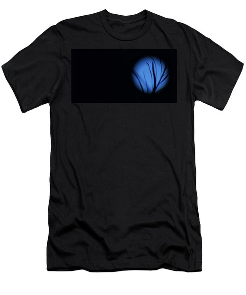Men's T-Shirt (Slim Fit) featuring the photograph Plant's Eye by Angela J Wright