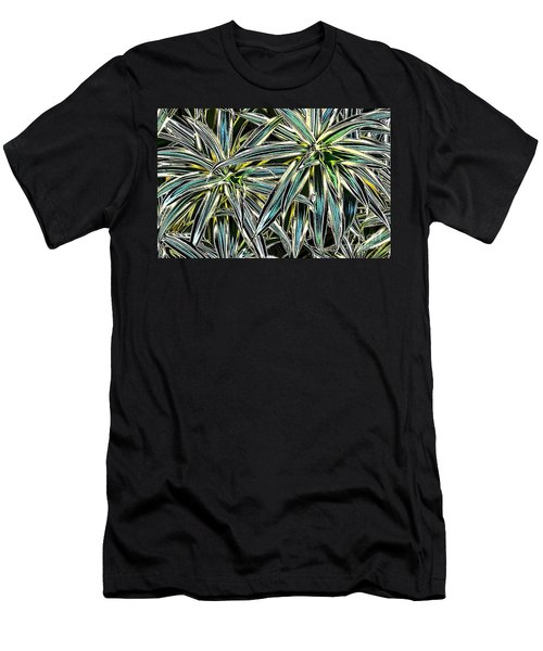Plants  Men's T-Shirt (Slim Fit) by Oksana Semenchenko