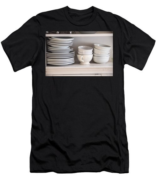 Plates And Bowls Men's T-Shirt (Athletic Fit)