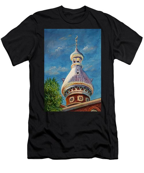 Play Of Light - University Of Tampa Men's T-Shirt (Athletic Fit)