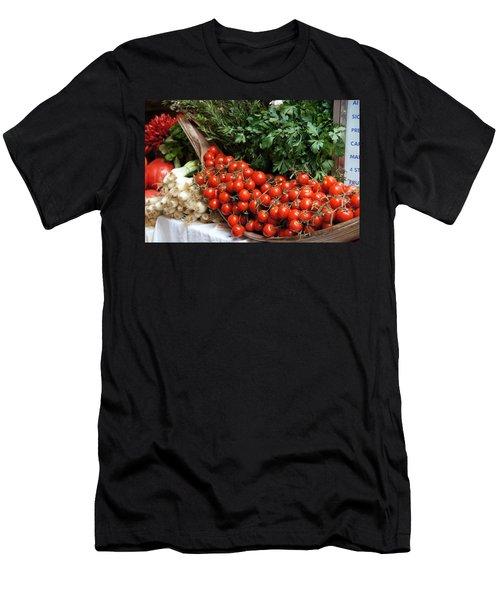 Plentiful Red Men's T-Shirt (Athletic Fit)