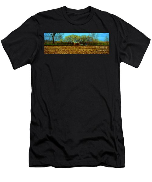 Plow Days Freeport Illinos   Men's T-Shirt (Athletic Fit)