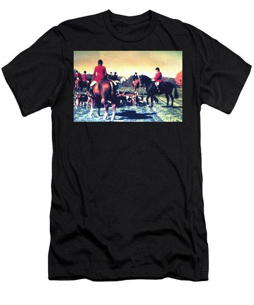 Plum Run Hunt Opening Day Men's T-Shirt (Athletic Fit)