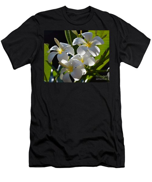 Men's T-Shirt (Slim Fit) featuring the photograph Plumeria's IIi by Robert Meanor