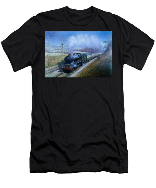 Plymouth Bound. Men's T-Shirt (Athletic Fit)