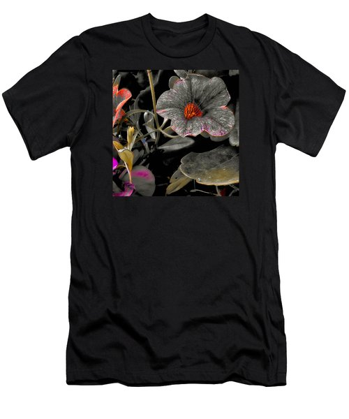 Men's T-Shirt (Slim Fit) featuring the photograph Pocket Of Orange by Thom Zehrfeld