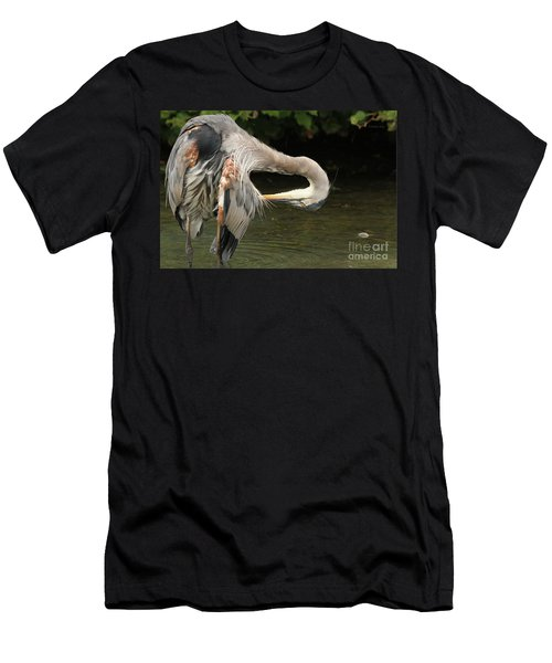 Men's T-Shirt (Slim Fit) featuring the photograph Point Of Interest by Heather King